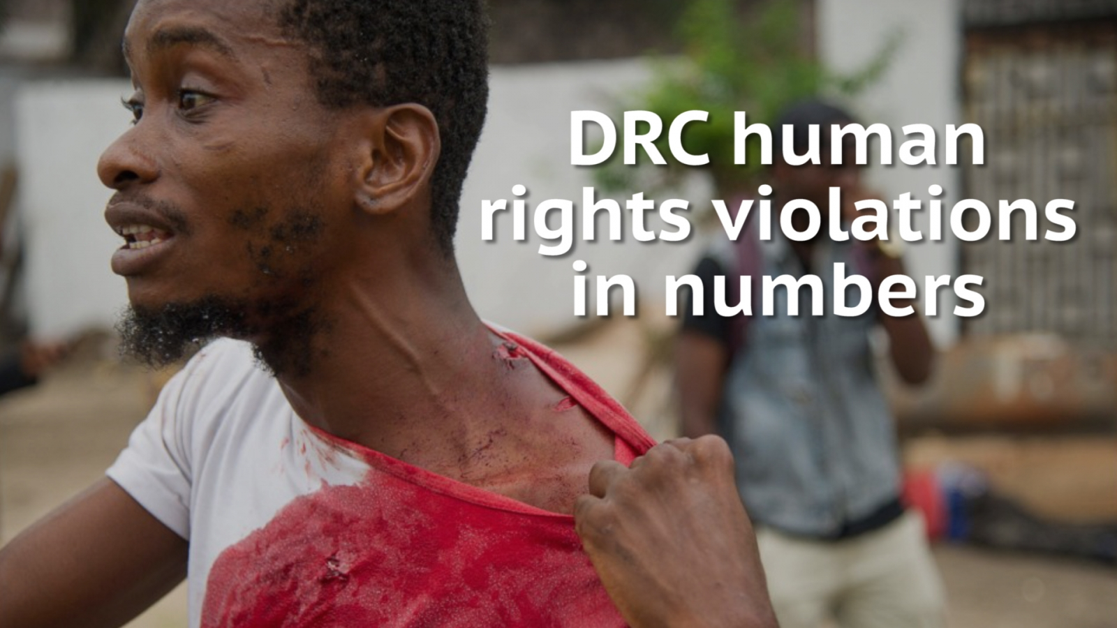 DRC human rights violations - in numbers