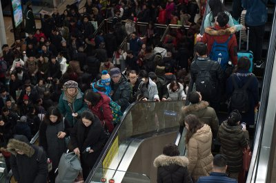 China Lunar New Year travel chaos