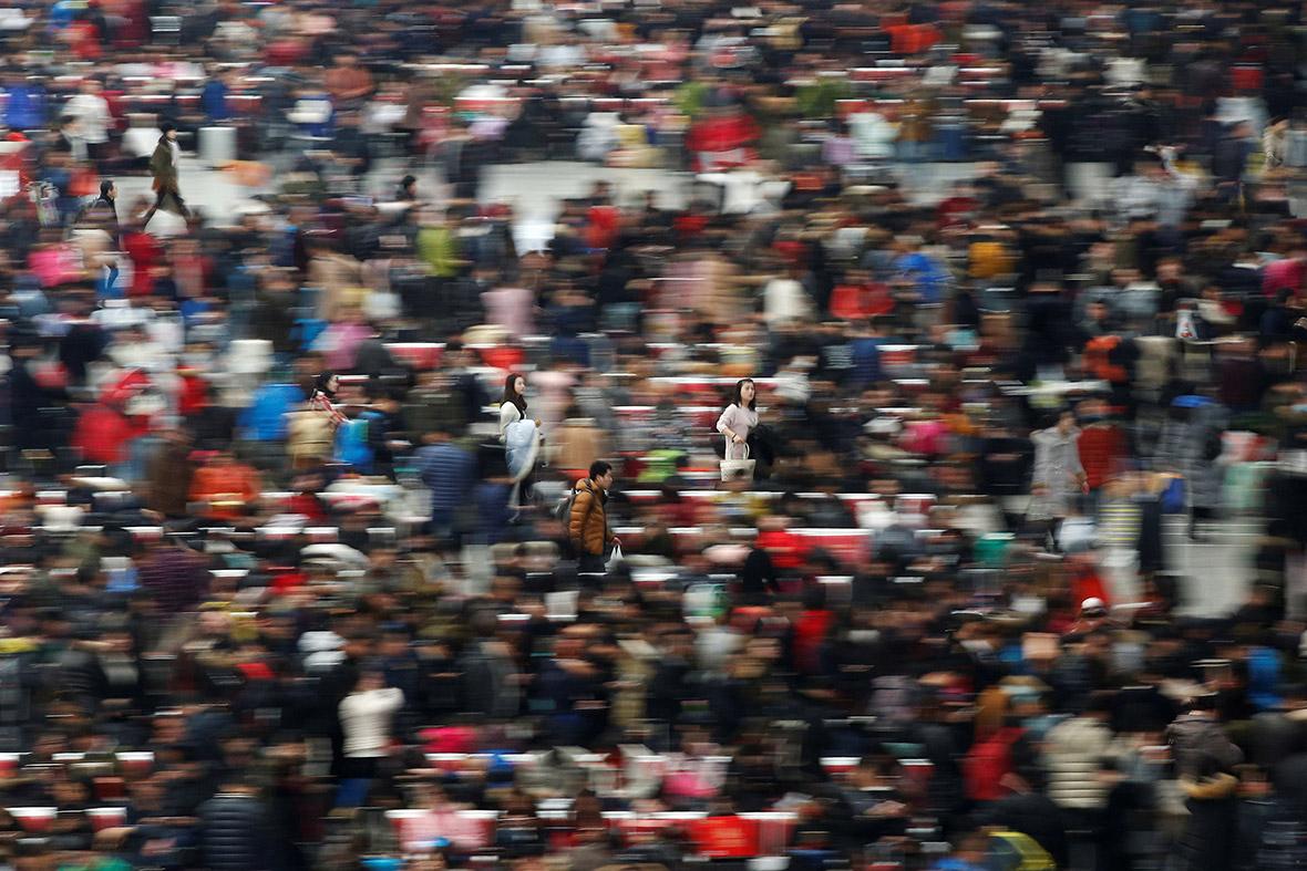 China Lunar New Year travel chaos