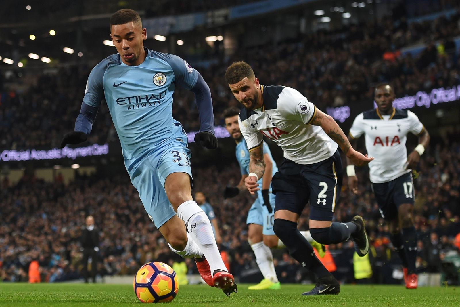 Brazil striker Gabriel Jesus in line for return for Man City
