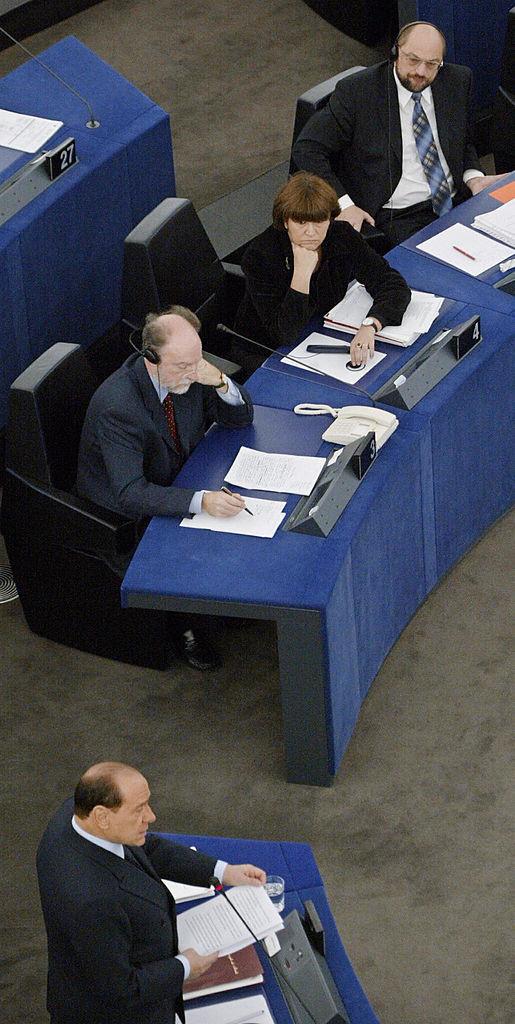 Berlusconi Schulz