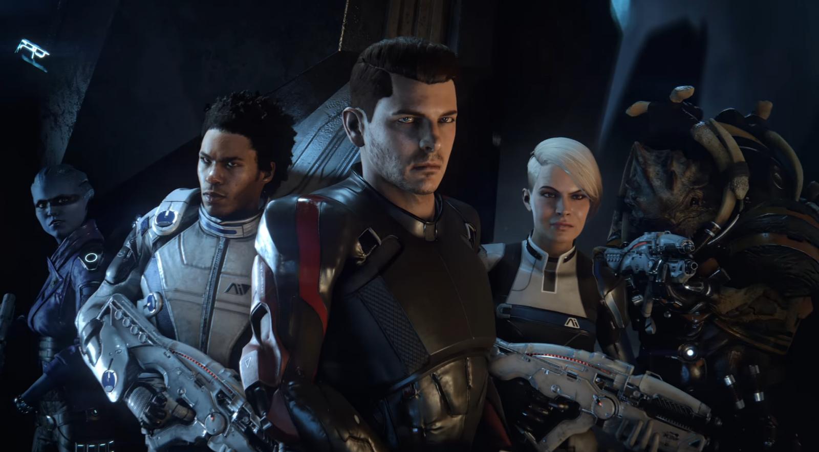 Mass Effect Andromeda Squad