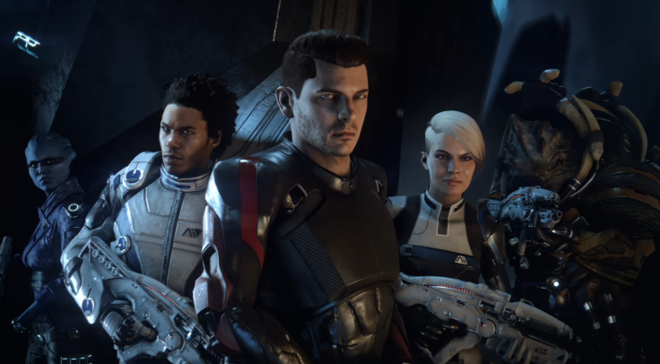 Mass Effect Andromeda Squad