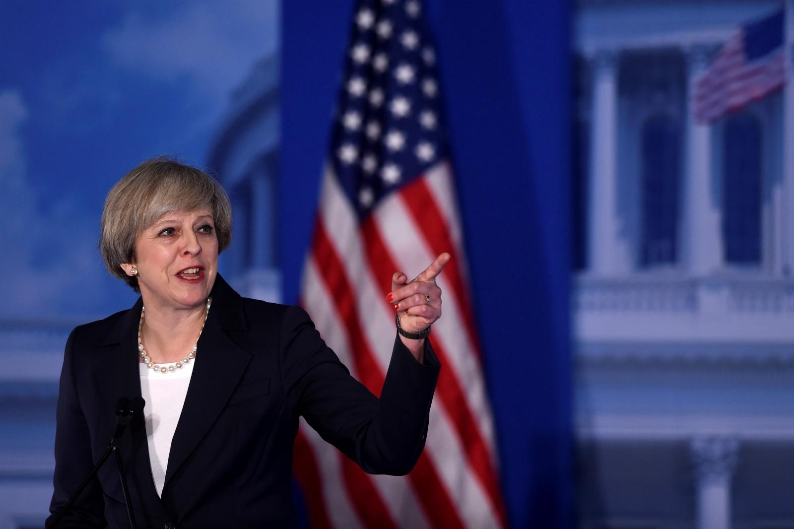 Theresa May Philadelphia