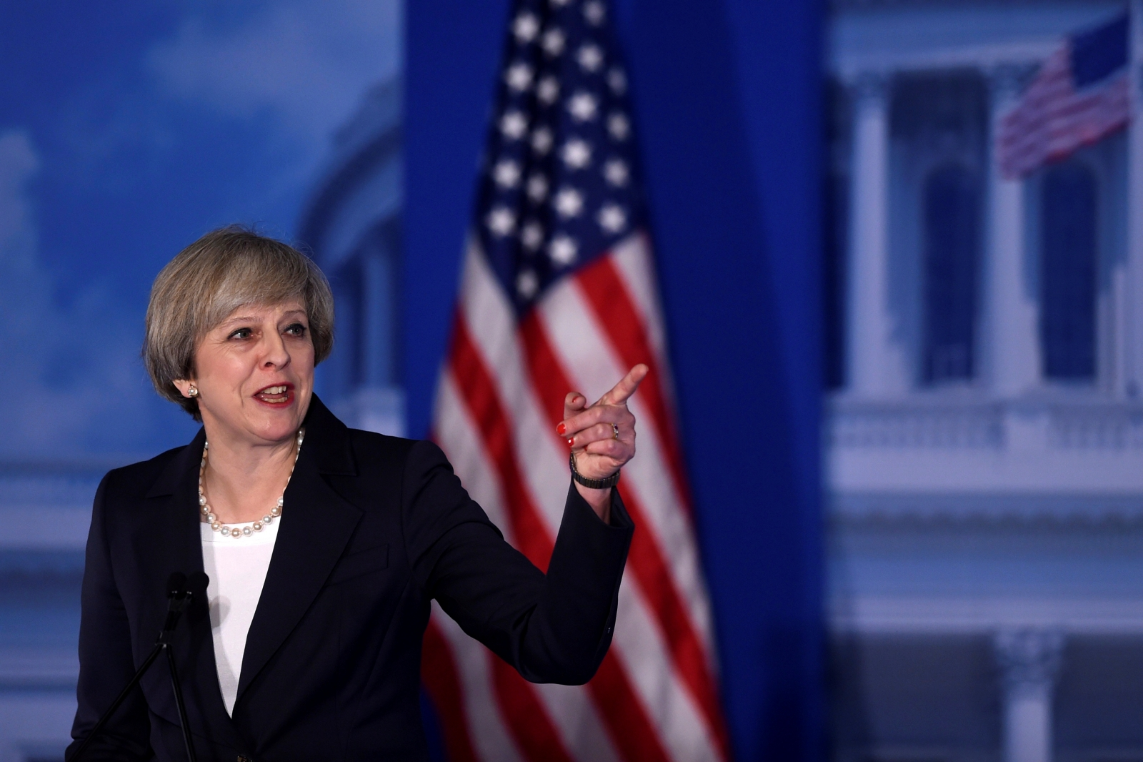 Read Theresa May's speech to Republicans in Philadelphia in full