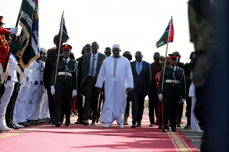 Gambia President Adama Barrow in Banjul