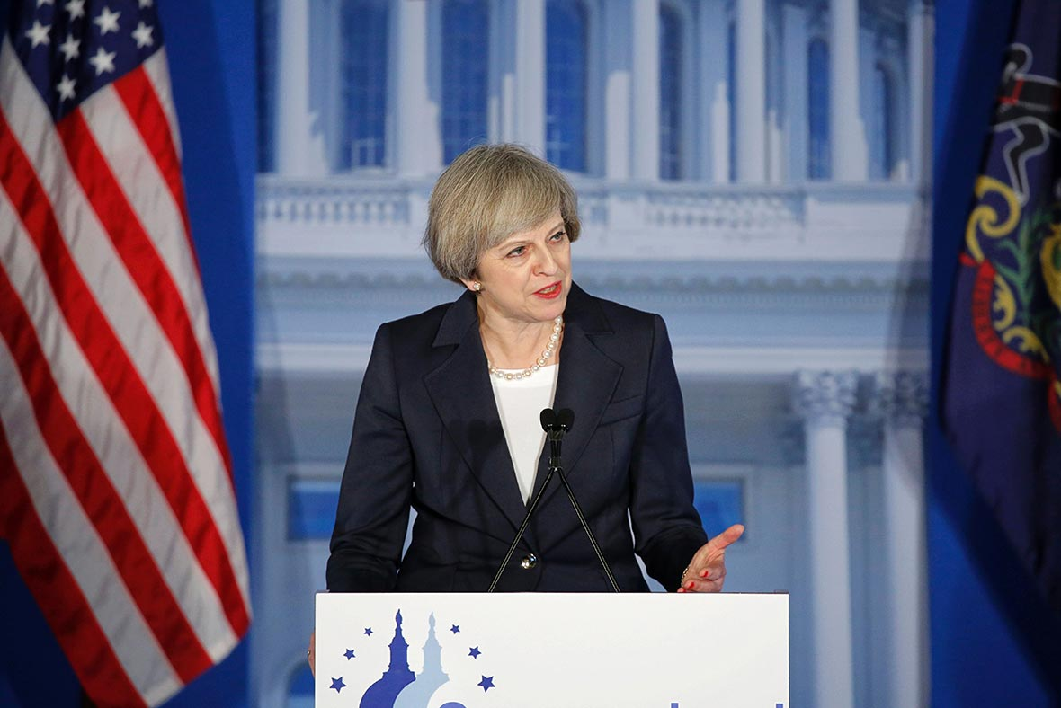 UK PM May Says Britain 'Open for Business' in Turkey Trip