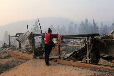 Chile forest fire incendios forestales