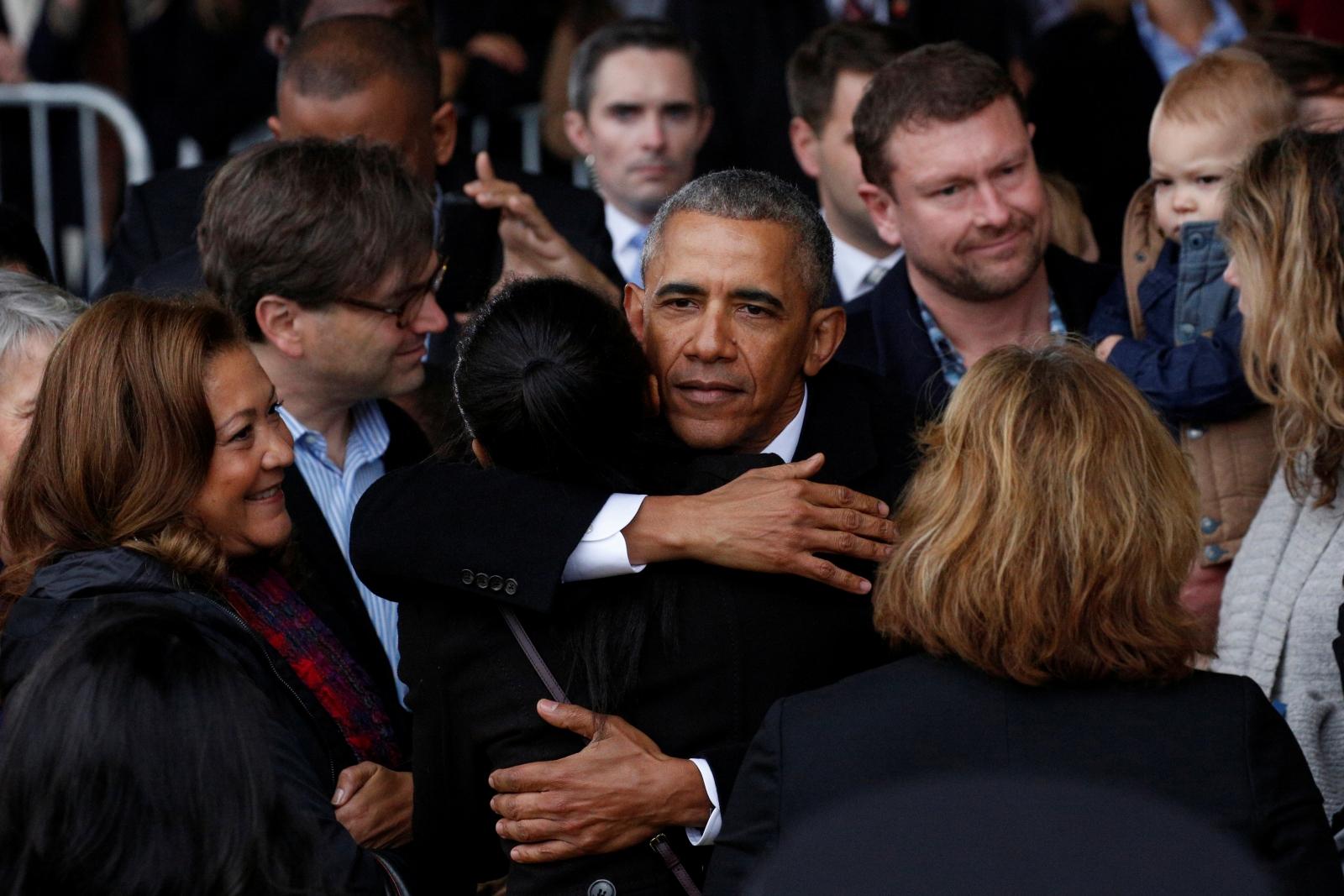 USA-TRUMP/INAUGURATION-OBAMA