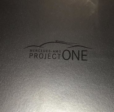 Mercedes-AMG Project One brochure