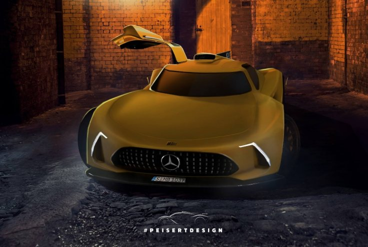 Peisert Design Mercedes Project One render