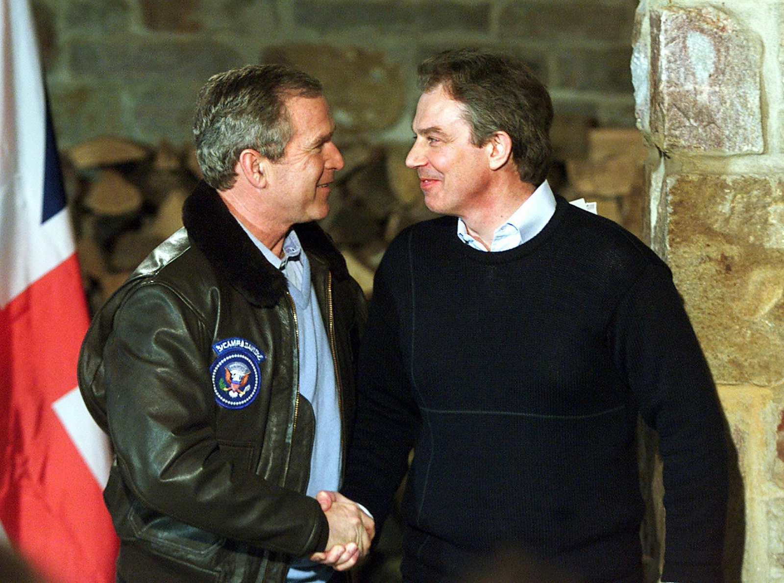 Tony Blair George W Bush