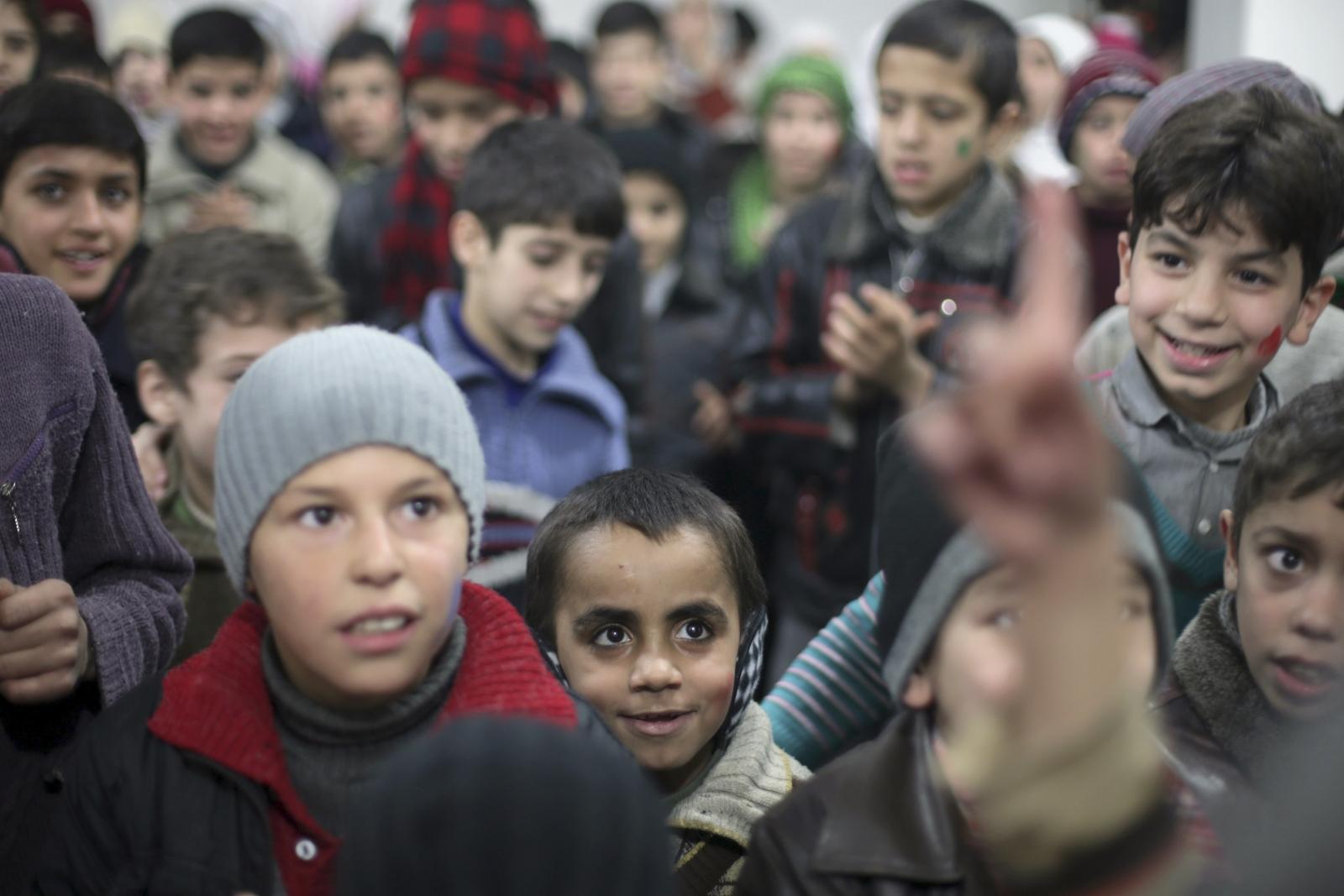 Syrian orphans