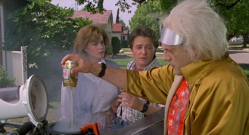 What Was The Substance Doc Brown S Car In