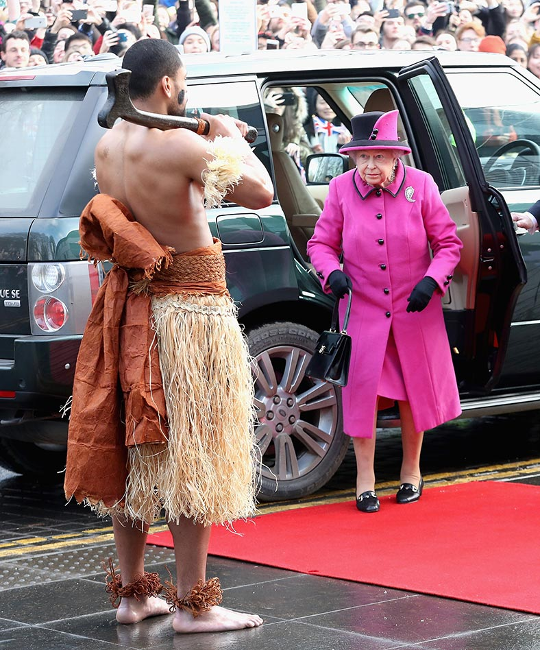 Royal news: The FIRST monarch to be pictured HALF-NAKED