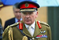 General Dannatt arrives to open army recovery centre for injured and unwell soldiers at Erskine Edinburgh home