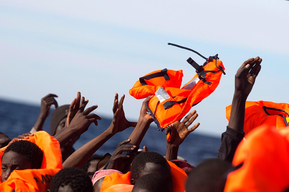 Sub-Saharan refugees