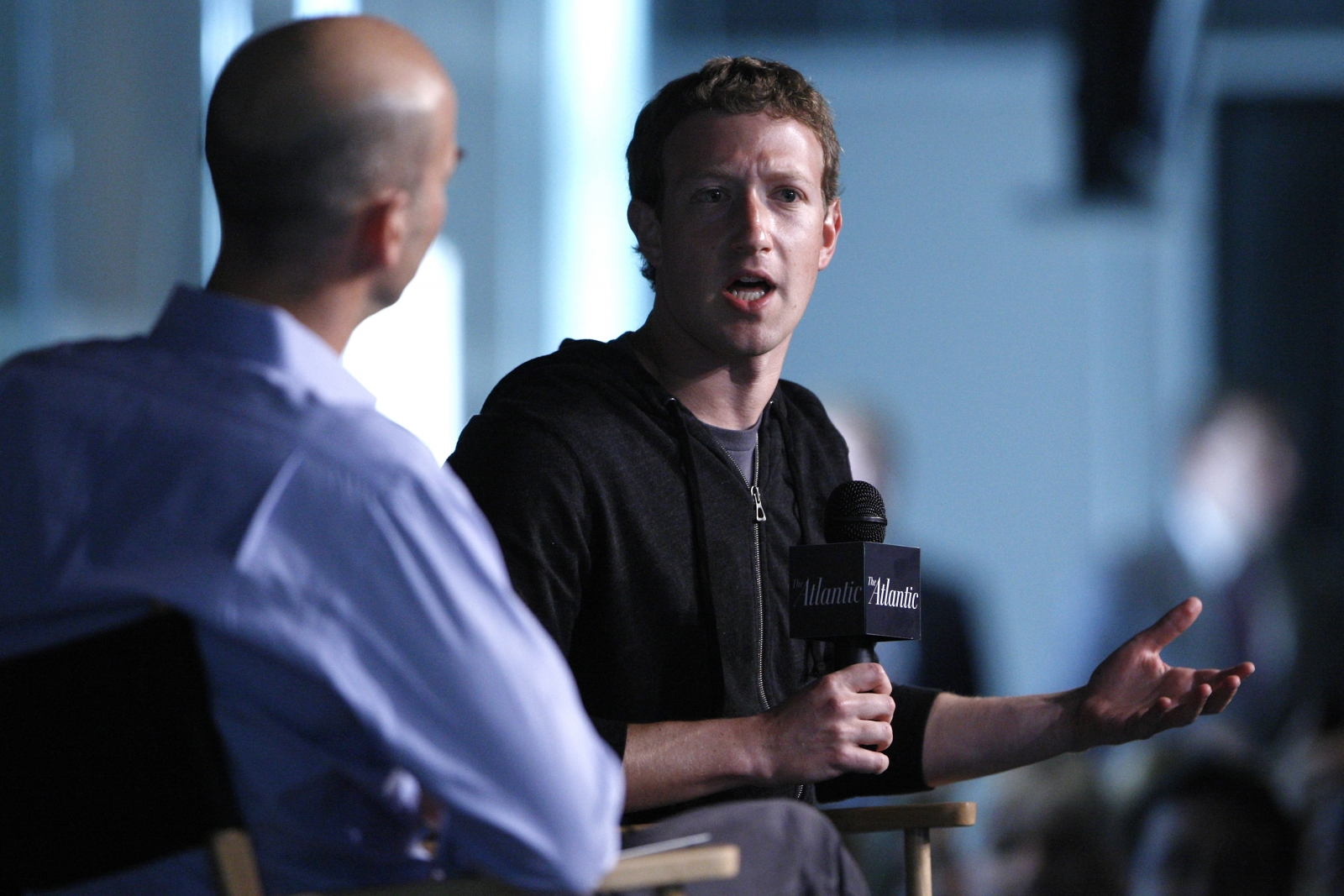 Facebook founder Mark Zuckerberg studies role of church in community