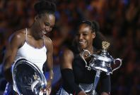 Venus and Serena Williams at Australian Open