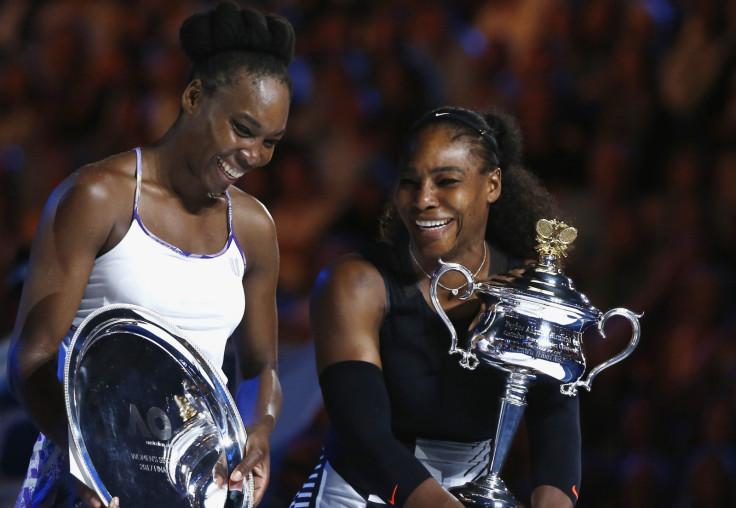 Venus and Serena Williams at Australian Open
