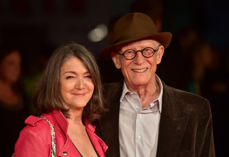Sir John Hurt and wife Anwen Hurt