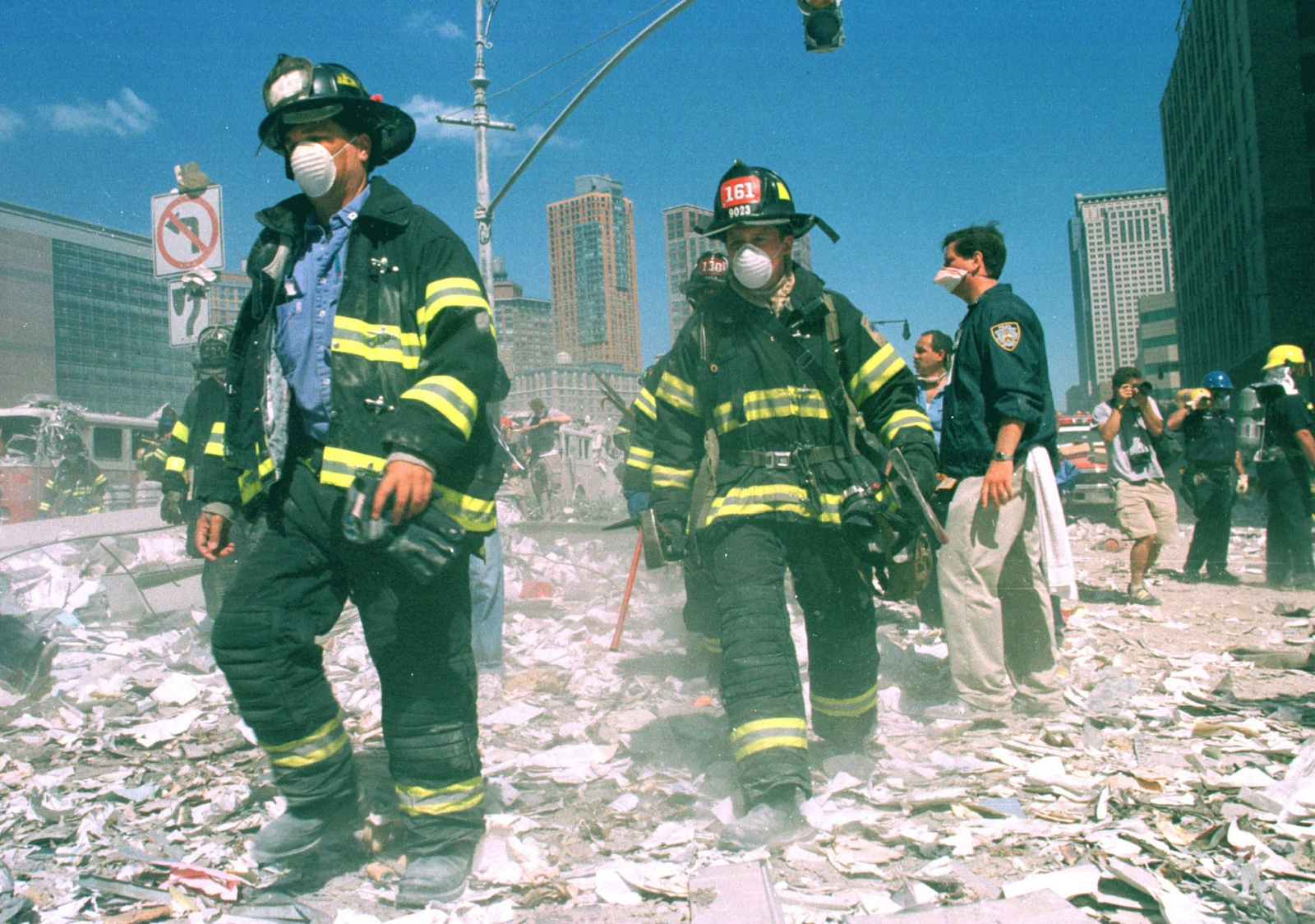 firefighters 9/11