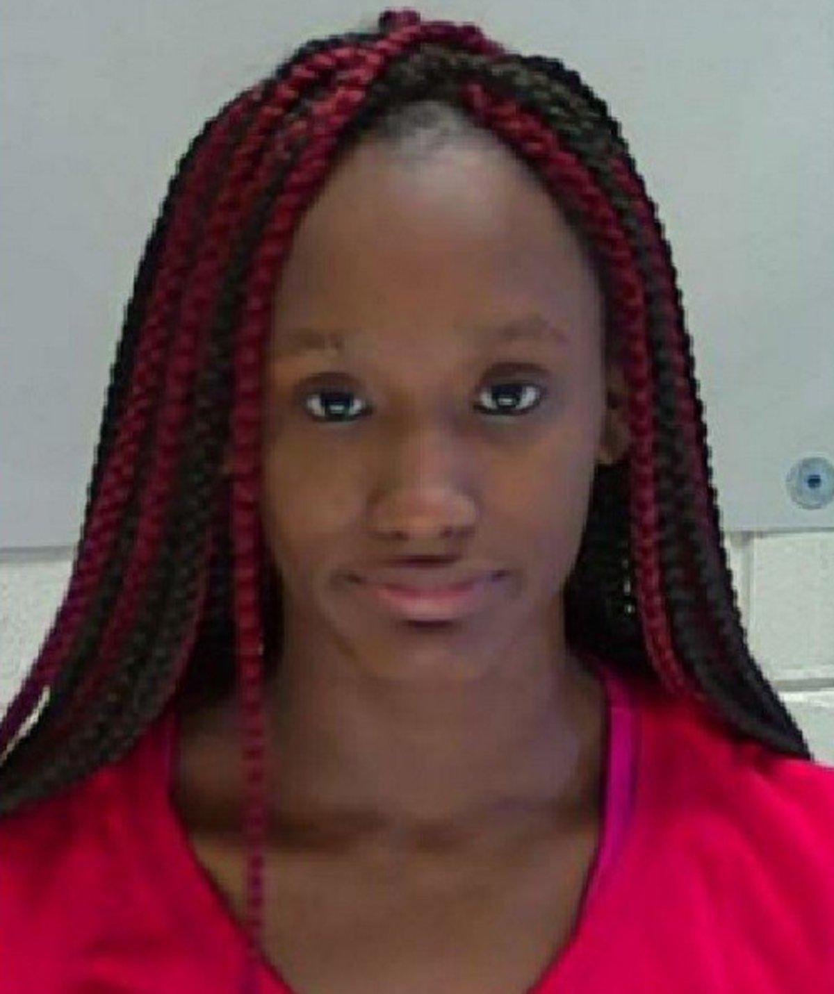 Sky Juliette Samuel is accused of smearing her menstrual blood in a hamburger
