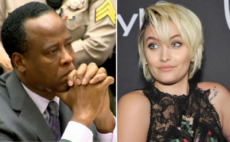 Doctor Conrad Murray and Paris Jackson