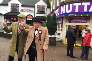 Paul Nuttall and Ukip activist