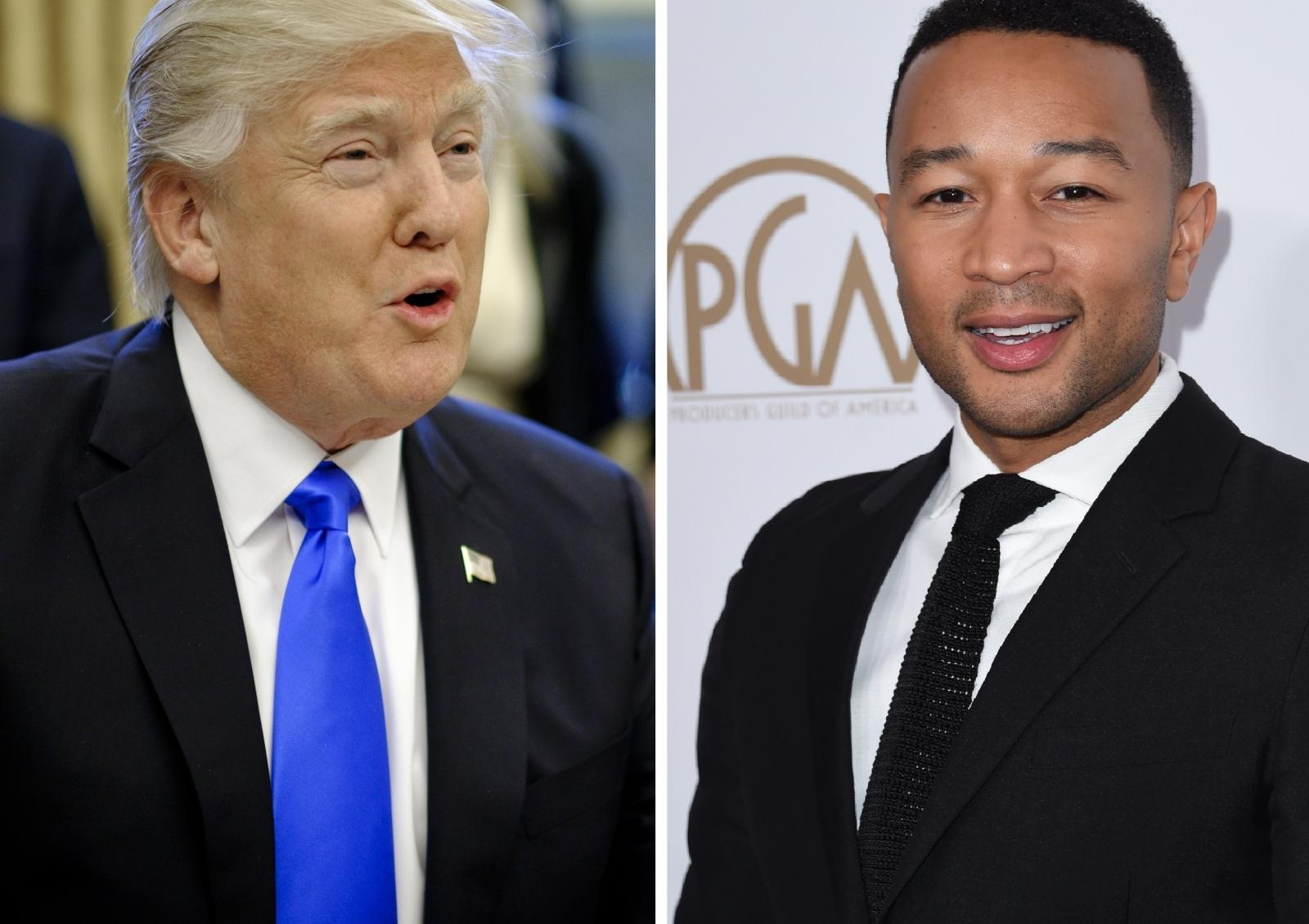 Donald Trump John Legend