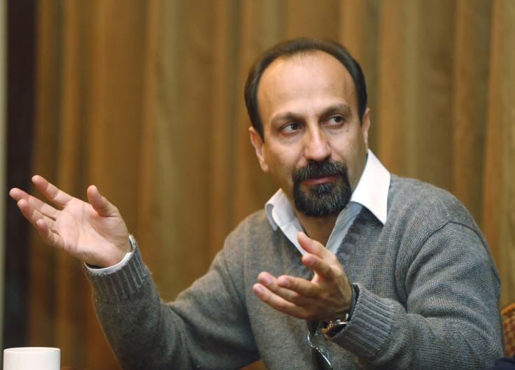 Iranian director Asghar Farhadi