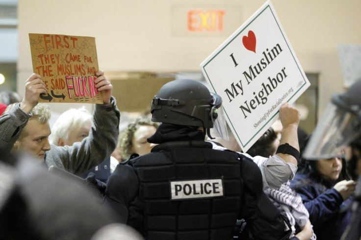 Trump protest