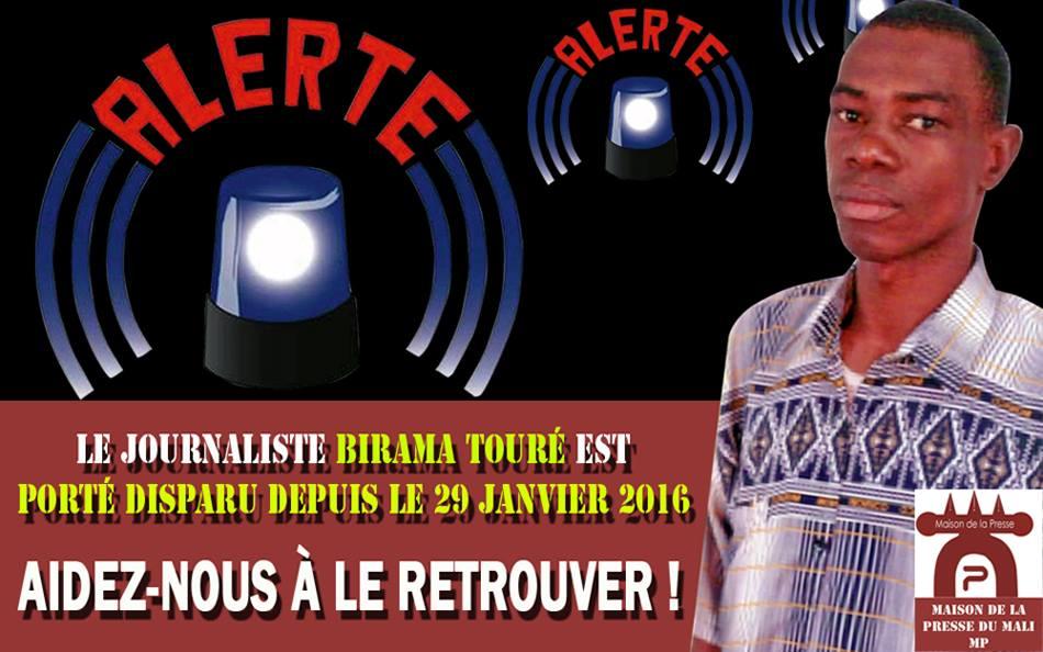Birama Toure journalist in Mali
