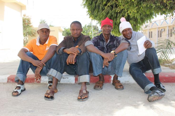Gambian refugees in Dakar