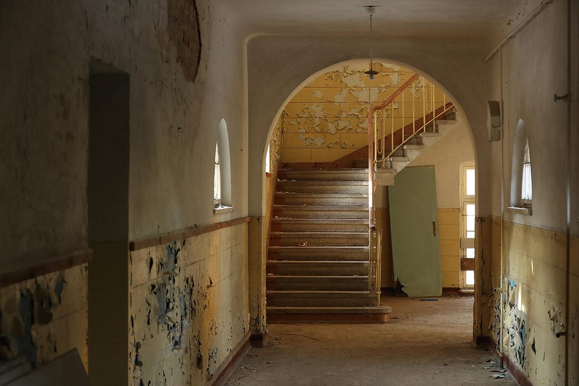 Abandoned Soviet army base east Germany Wuensdorf