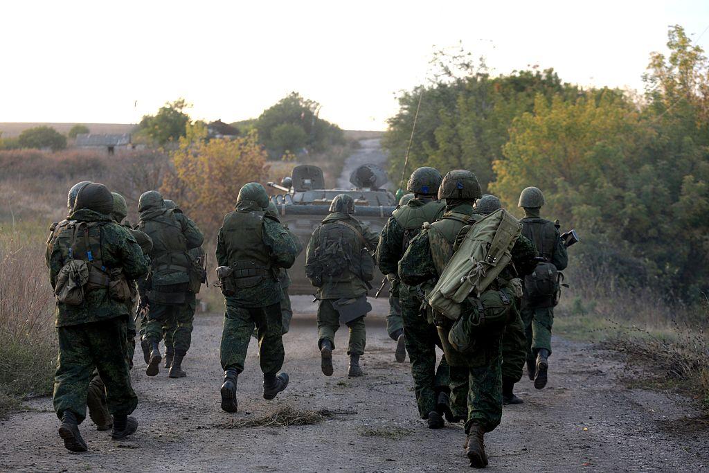 Pro-Russian militants in east Ukraine
