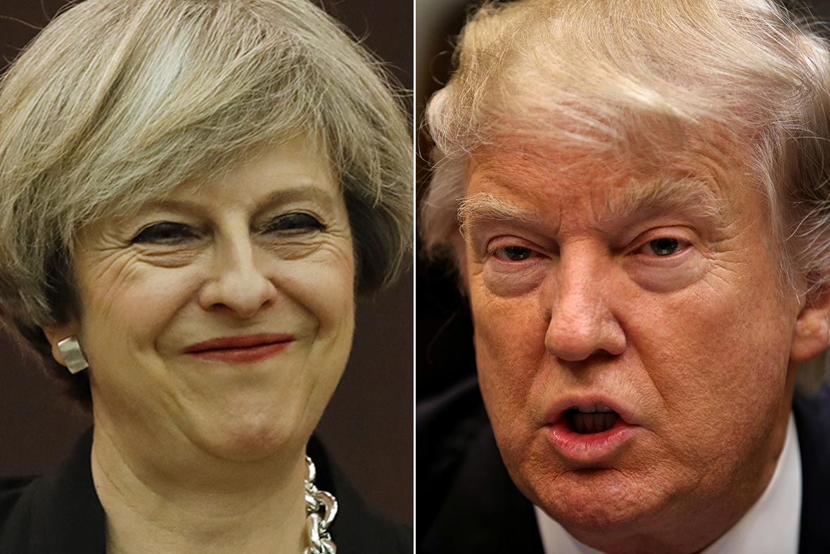 Trump visit to Britain planned for 2018