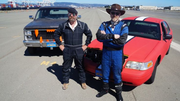 Mythbusters on Discovery