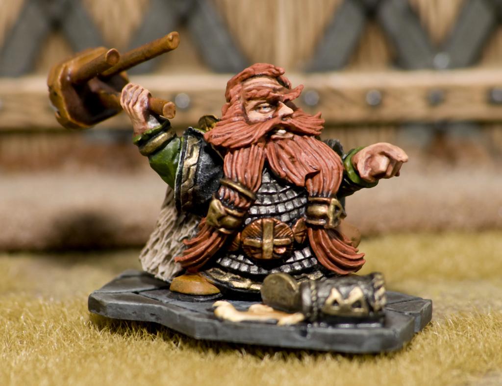 Warhammer dwarf