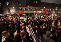 UK protests against Trump travel ban