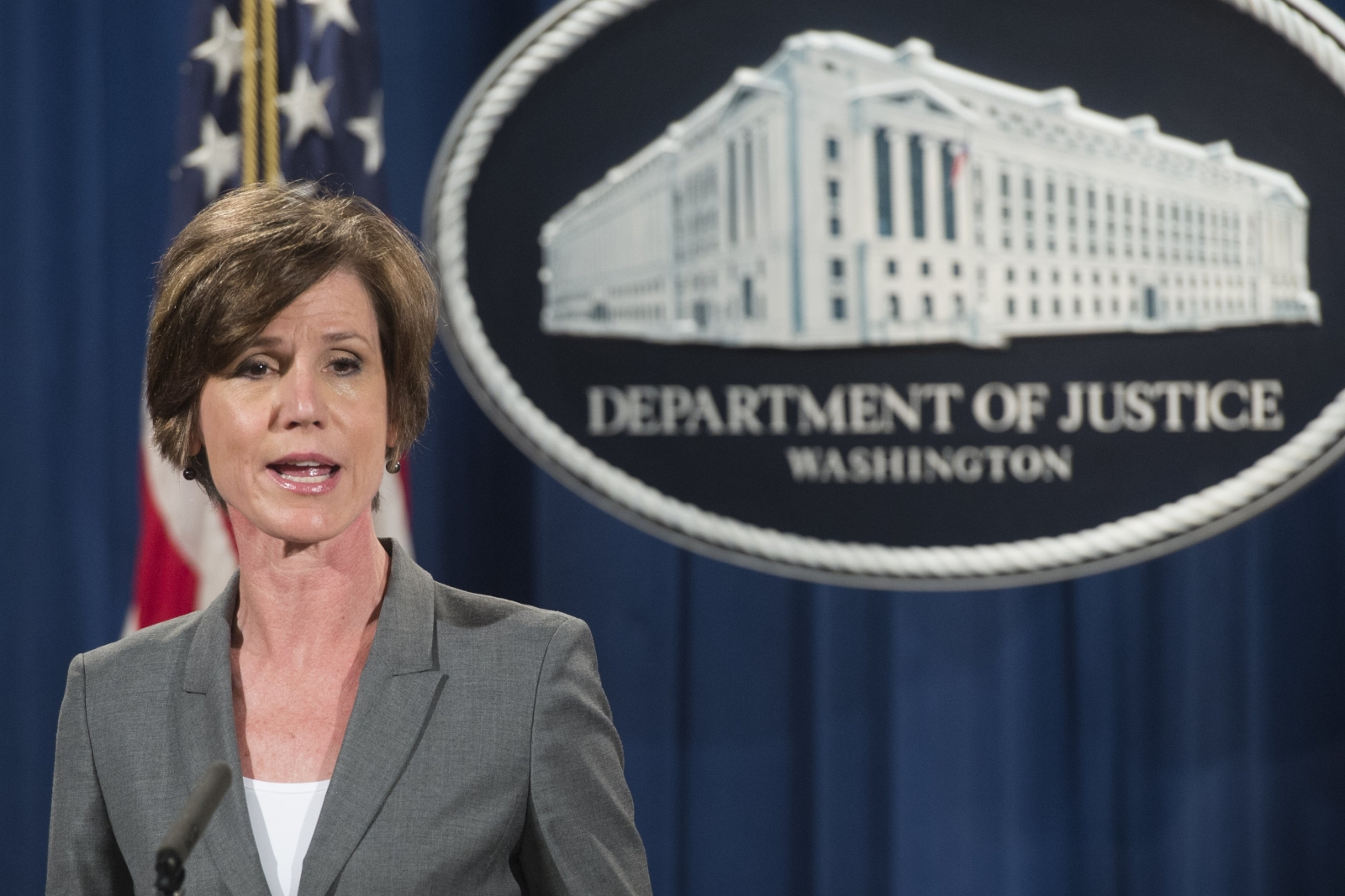 Acting Attorney General Sally Yates