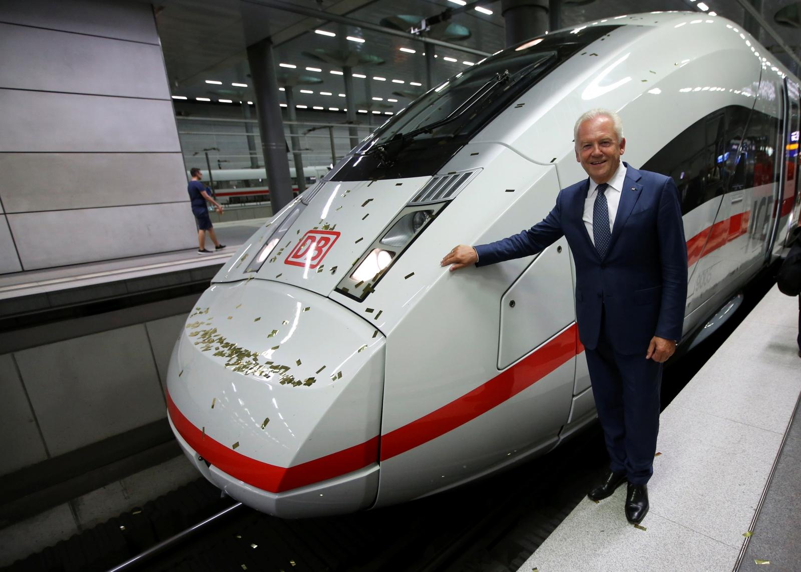 Deutsche Bahn former CEO Ruediger Grube