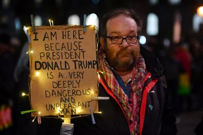 Trump protest London
