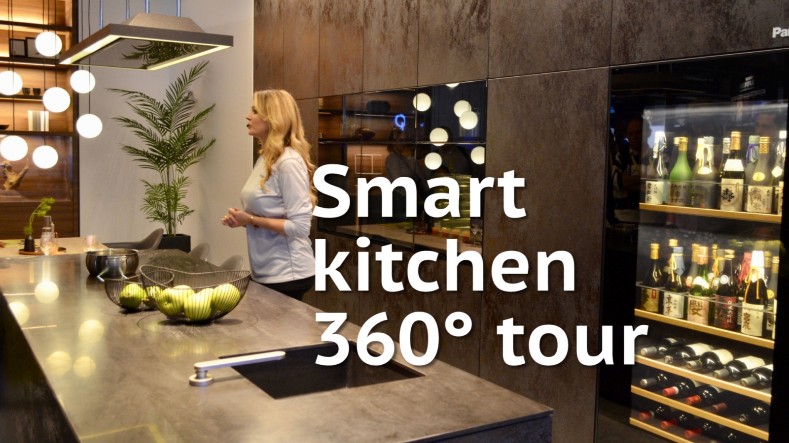 Smart Kitchen Ces 2017 Panasonic Smart Kitchen Wows With Smart Wine Cellar And More