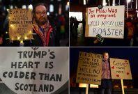 Trump protest UK