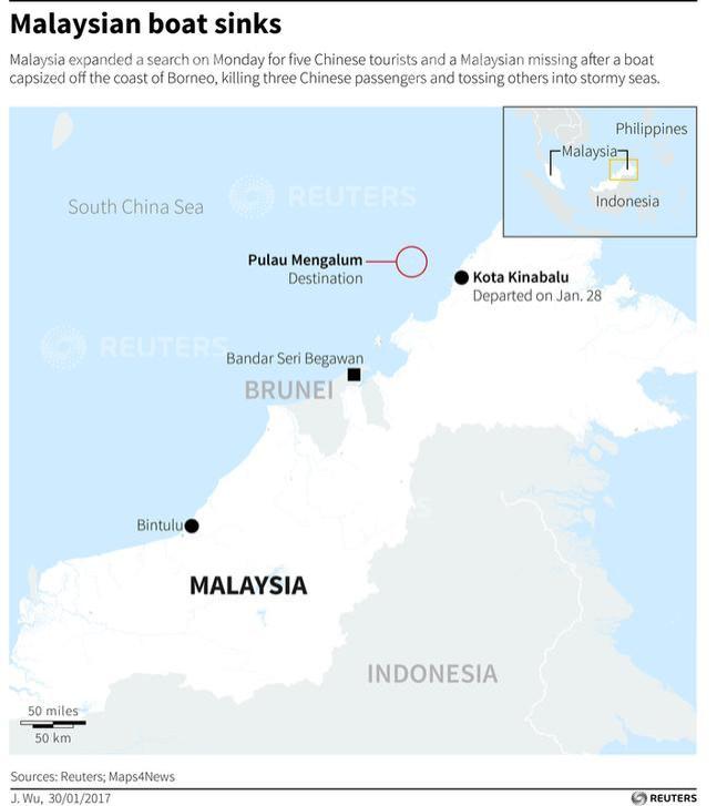 Malaysia boat capsize