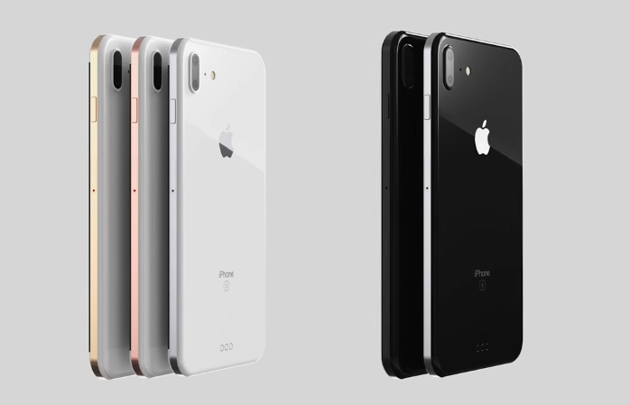iPhone 8 Plus render