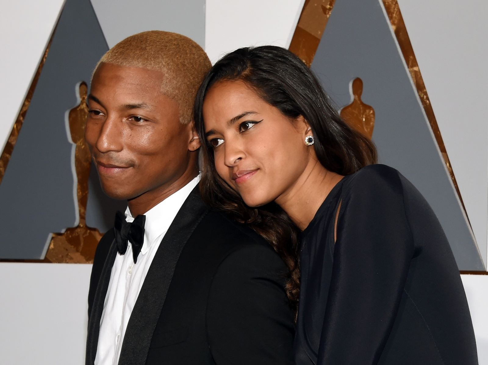 Pharrell Williams and wife