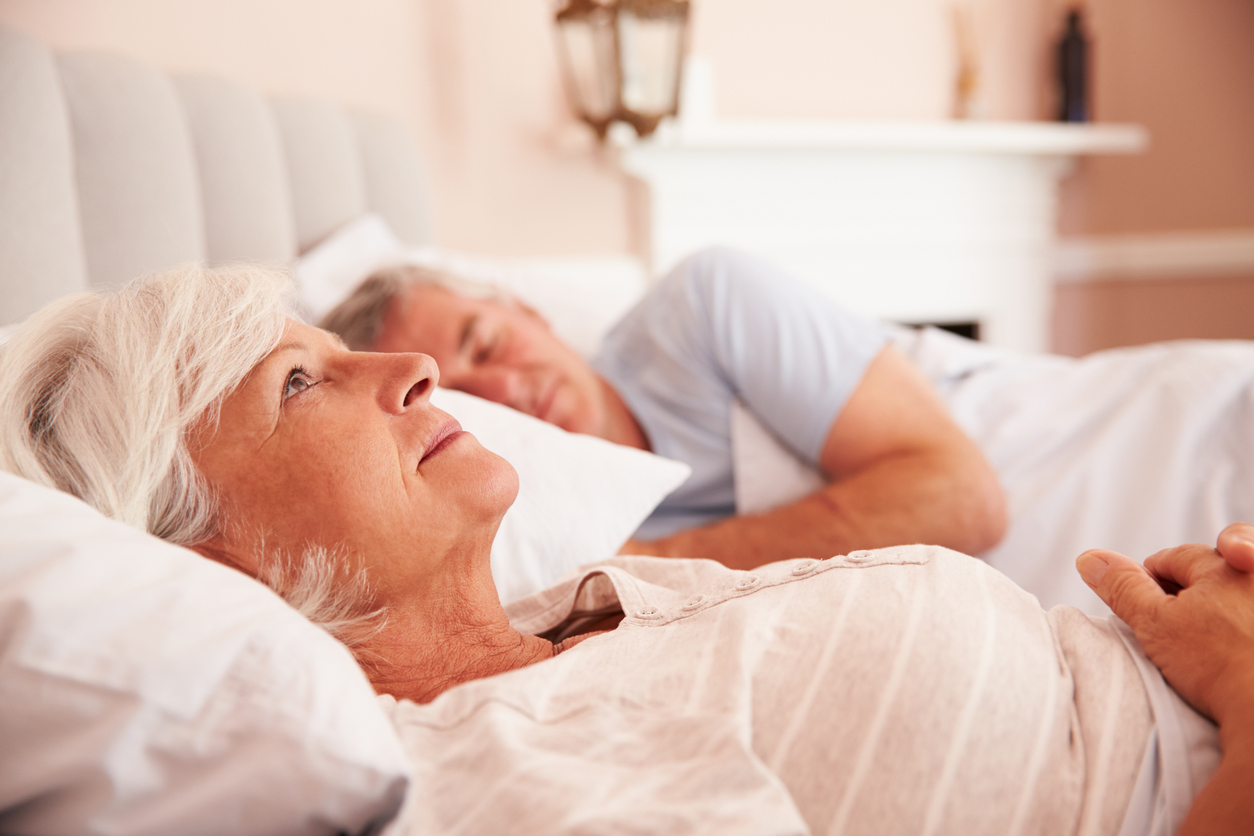Older people sleep