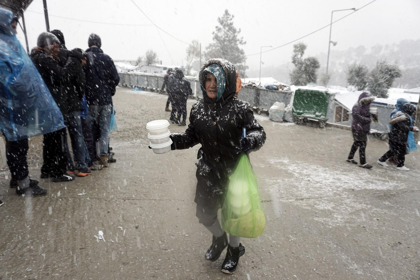 Moria Greece refugees migrants camp Lesbos